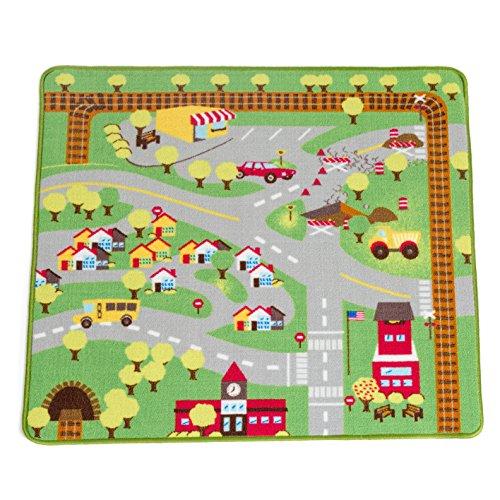 kids play car rug community carpet mat regular 39 x 35 11street malaysia floor runners. Black Bedroom Furniture Sets. Home Design Ideas