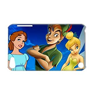3D Print Classic Movie&Peter Pan Quote Background Case Cover for IPod Touch 5- Personalized Hard Cell Phone Back Protective Case Shell-Perfect as gift