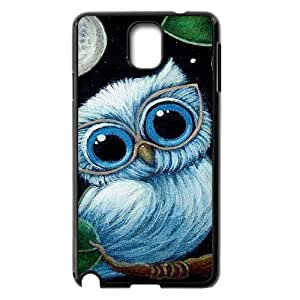 Owl The Unique Printing Art Custom Phone Case for Samsung Galaxy Note 3 N9000,diy cover case ygtg526798