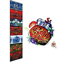 "Russian Heat Shrink Wrap Sleeve Decoration Easter 7 Egg Pysanka ""Paschal"""