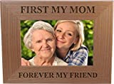 Best CustomGiftsNow Classics Evers - First My Mom Forever My Friend 4x6 Inch Review