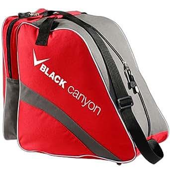 Black Canyon - Mochila para botas de esquí, color rojo