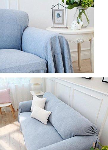 Z&HX Sand Release/Simple Modern Thicken Non-slip Sofa Towel/Bay Window Cushion,Carpet/Sofa Full Cover, 200180cm by Z&HX (Image #5)