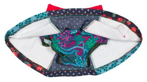 Oishi-m Baby Girl's Tallow Skirt Blue/Red 12-24 months