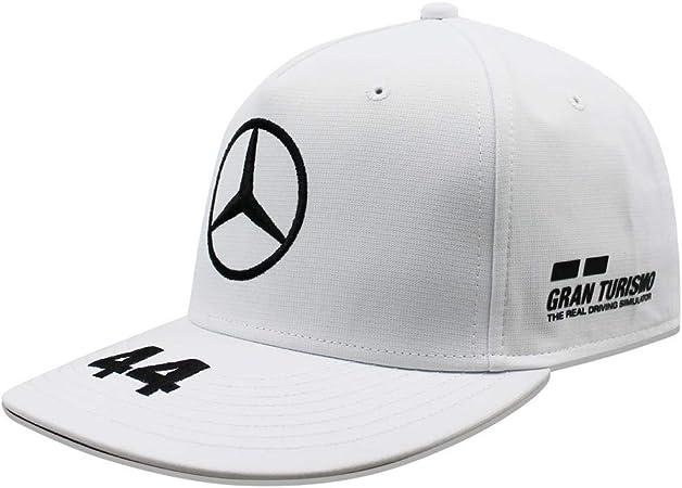 Mercedes AMG Petronas F1 Lewis Hamilton F Brim Gorra Blanco ...