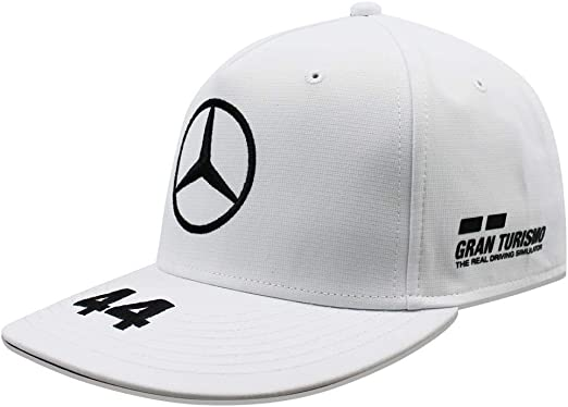 Genuine Mercedes-Benz F1 Petronas Lewis Hamilton Flat Brim Cap 2018