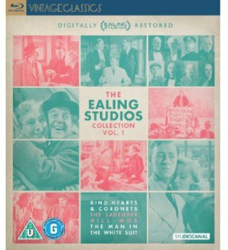 The Ealing Studios Collection Volume 1 (Kind Hearts and Coronets / The Lavender Hill Mob / The Man in the White Suit) [Blu-ray Region B Import - UK] ()