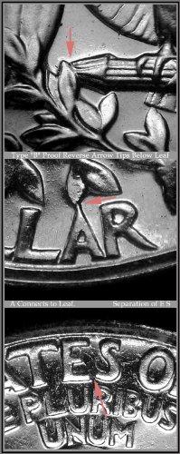 SCARCE 1964 TYPE B WASHINGTON QUARTER -- GEM BU UNCIRCULATED (Quarter Type Washington)