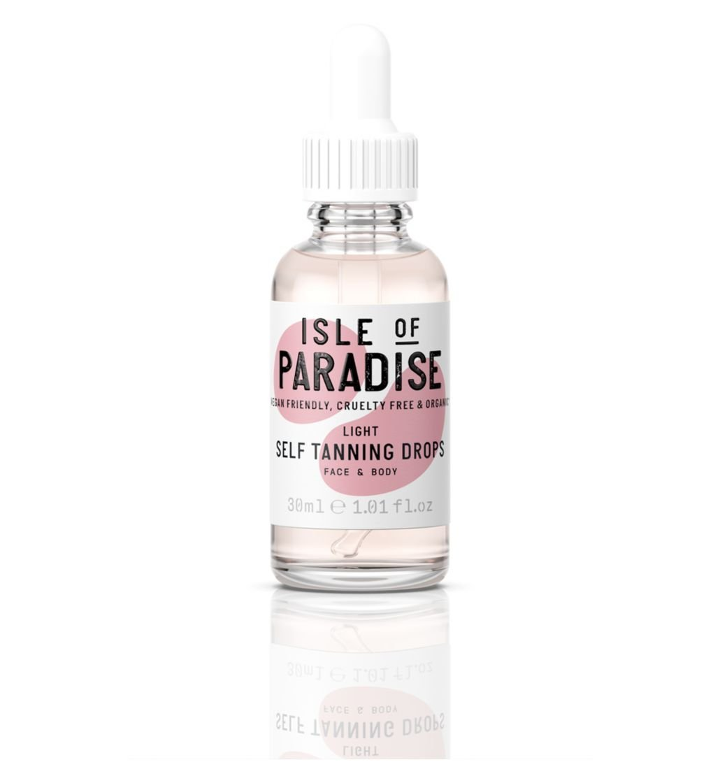 Isle of Paradise Self-Tanning Drops -Light 30ml We Are Luxe Ltd