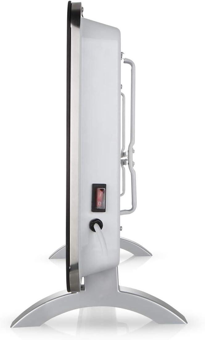 Orbegozo reh-1060/Radiatore Nero 1000/W con Pannello radiante di Vetro temperato