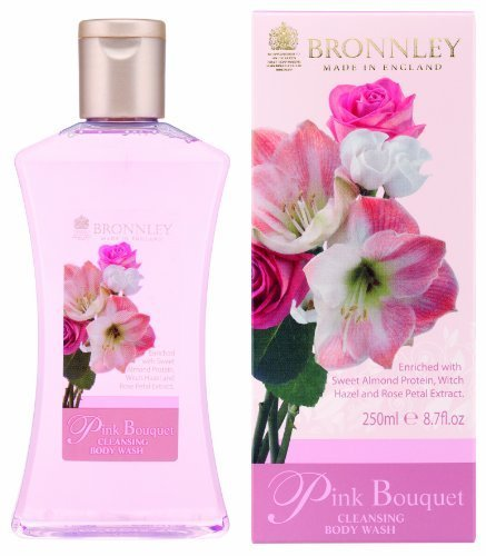 Bronnley Pink Bouquet Cleansing Body Wash 250ml by Bronnley
