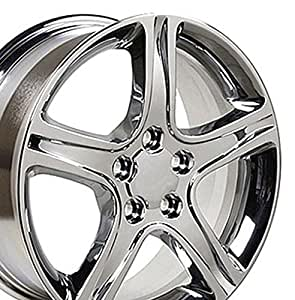 17x7 Wheel Fits Lexus, Toyota - IS Style Chrome Rim, Hollander 74157