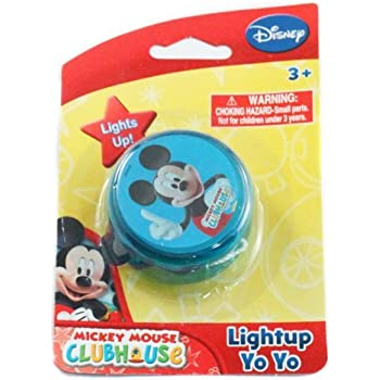 Amazon.com: Disney Luz LED arriba Yo Yo Childrens juguete ...