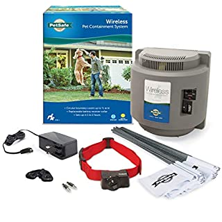 PetSafe Wireless Dog and Cat Containment System - from the Parent Company of INVISIBLE FENCE Brand - Above Ground Electric Pet Fence (B0001ZWZ8O) | Amazon price tracker / tracking, Amazon price history charts, Amazon price watches, Amazon price drop alerts