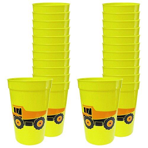 Construction 12-Ounce Cups (24)