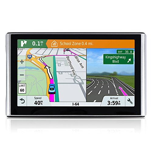 Car GPS, 7 inch 8GB Navigation System for Cars, Spoken Turn- to-turn Traffic Alert Vehicle GPS Navigator, Lifetime Map Updates by vrchil