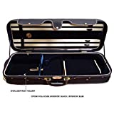 "D'Luca Deluxe Oblong Heavy-Duty Viola Case With Hydrometer Fits 15"" to 16.5"""