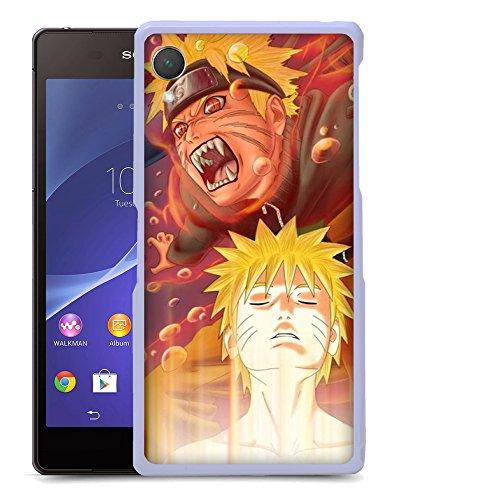 Case88 Designs Naruto Naruto & Sasuke Protective Snap-on Hard Back Case Cover for Sony Xperia Z2