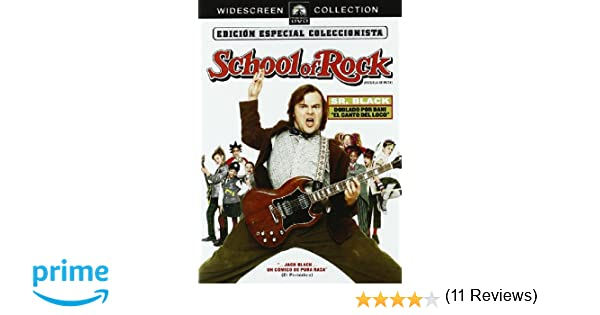 School of Rock [DVD]: Amazon.es: Jack Black, Mike White, Lucas Babin ...