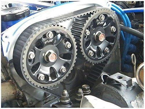 Obras de ingeniería Cam Gear Polea para Honda Civic EG EK Integra B16 A b16b B18 C: Amazon.es: Coche y moto