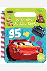 Disney Pixar Cars 3 Wipe-Clean Activity Book Paperback