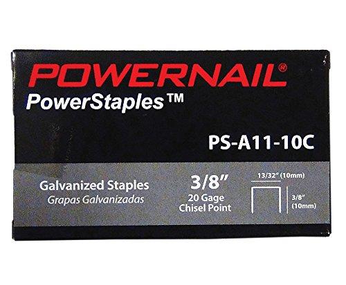 Powernail 20 Ga. Chisel Point Staples, 13/32