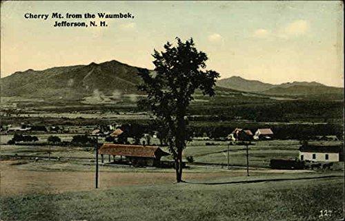Cherry Mt. From the Waumbek Jefferson, New Hampshire Original Vintage Postcard ()