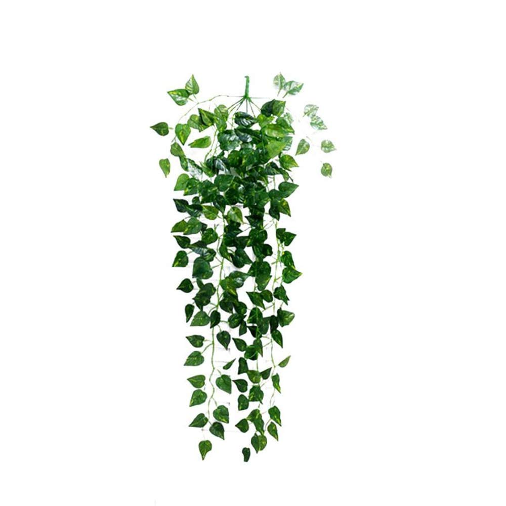 fenjunshangmao_Accessories Vine Artificial Ivy Fake Hanging Plants Greenery Chain Wall Hanging Leaves for Home Wall Room Garden Wedding Garland Indoor Outdside Hanging Decoration
