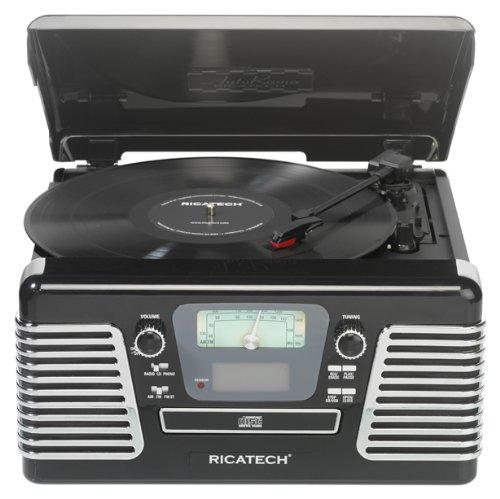Ricatech RMC100 - Tocadiscos (3.5 mm, 4 W, 4.37 kg, SD ...