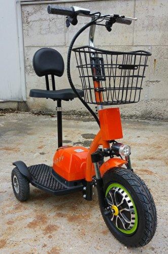 Zappy ElektroScooter Senioren ElektroMobil Mobility Vehicle Elektro Dreirad bis 25km//h Orange 500W ElektroScooter Zappy!
