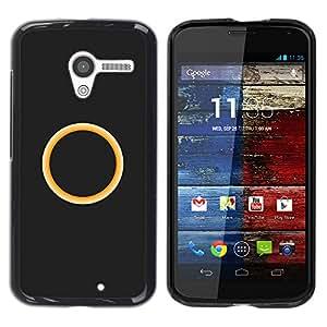 Caucho caso de Shell duro de la cubierta de accesorios de protección BY RAYDREAMMM - Motorola Moto X 1 1st GEN I - anillo