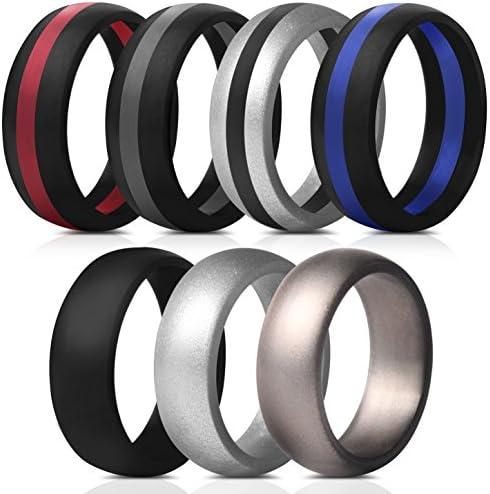 Saco Band Silicone Rings Wedding product image