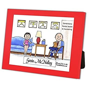 Amazon Com Printed Perfection Personalized Friendly Folks Therapist