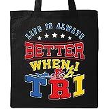 Inktastic - Life Better Triathlete Tote Bag Black 30131