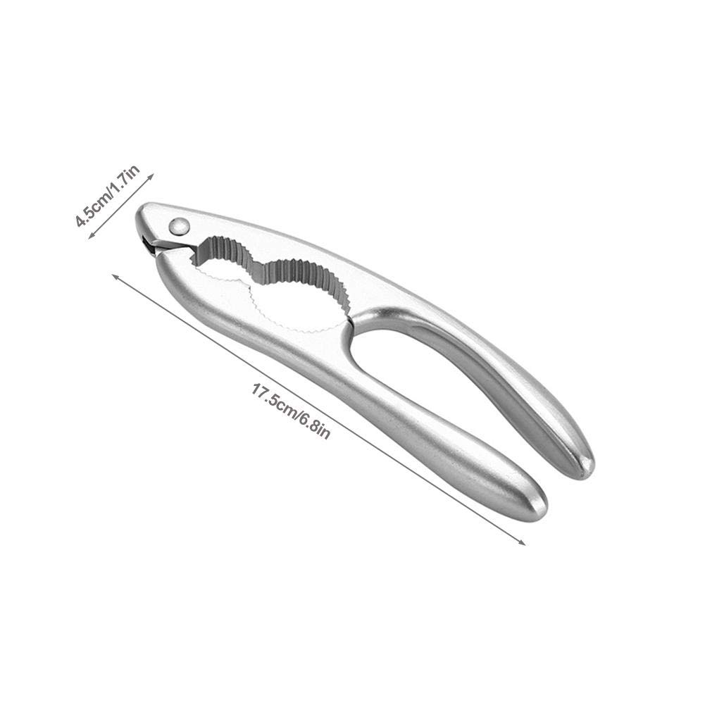 Esplic Aluminium-Nussknacker Walnusszange Praktisches innovatives Haselnuss-Walnuss-Mandel/öffner-Werkzeug