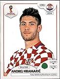 #7: 2018 Panini World Cup Stickers Russia #328 Andrej Kramaric Croatia Soccer Sticker