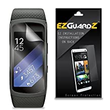 (6-Pack) EZGuardZ Screen Protector for Samsung Gear Fit 2 (Ultra Clear)