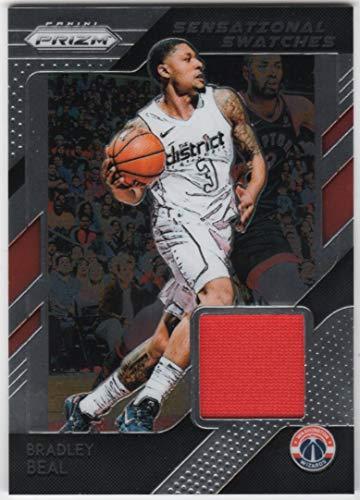 Bradley Beal 2018-19 Panini Prizm Sensational Swatches Jersey Card Washington Wizards ()