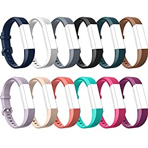 Bands for Fitbit Alta HR Fitbit Alta-Bands-over 12 Colors Small Large, Tryone Adjustable Replacement Accessory Bands/Straps/Bracelet for Fitbit Alta HR-Fitbit Alta for Women/Men(no Fitbit Fitness Tracker) (Small)