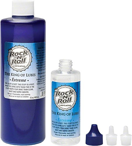 Rock N Roll ORM-D Extreme PTFE Chain Lubricant, 16-Ounce