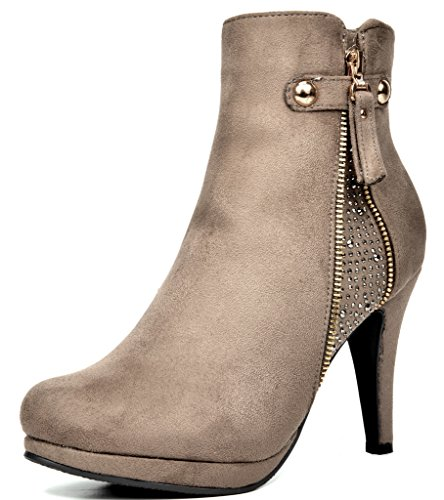 Dream Pair Women's Cecile Chic Detailed  - Chic Platform Shopping Results
