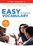 Easy English Vocabulary, Living Language Staff, 1400006600