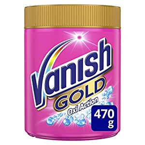 Vanish Gold Oxi Action, Quitamanchas Polvo, Color - 470 gr: Amazon ...