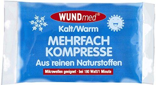 5 x Mehrfach-Kompresse Kompressen kalt/warm - sehr klein