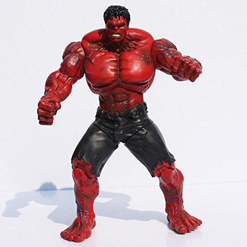 Movie Super Hero The Avengers Red Hulk PVC action Figure