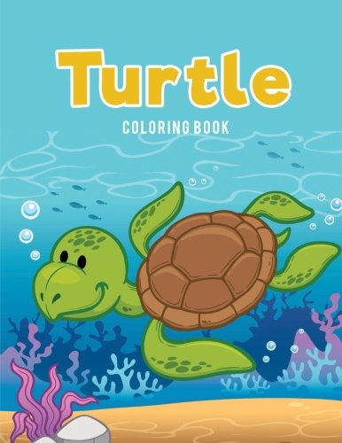 (Turtle Coloring Book)
