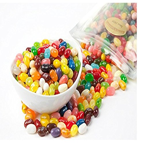 Jelly Belly Assorted Sour Mix Jelly Beans (1 Pound Bag) ()