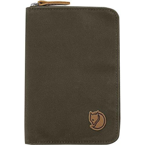 Fjallraven - Passport Wallet, Dark Olive