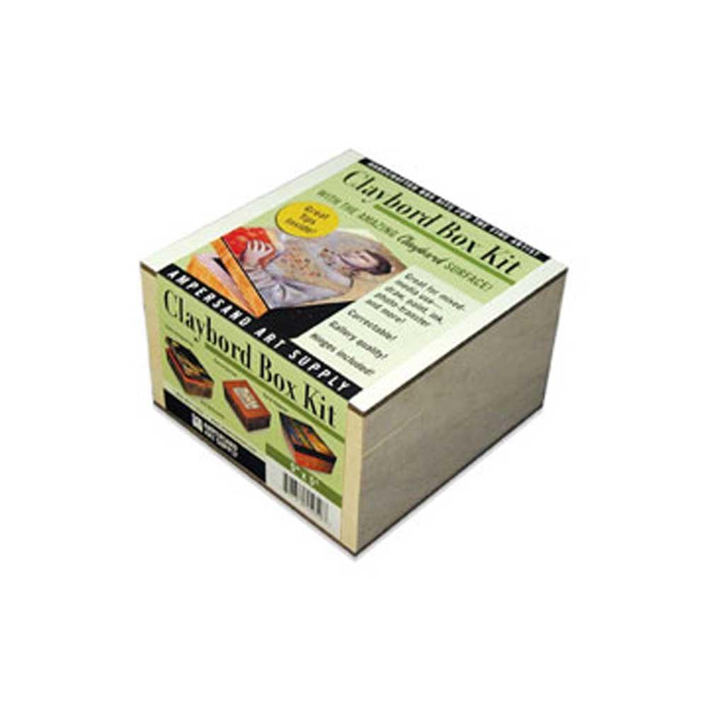 Ampersand Claybord Smooth Box Kit 5X7