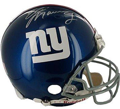 Eli Manning Signed Full Size Replica Giants Helmet